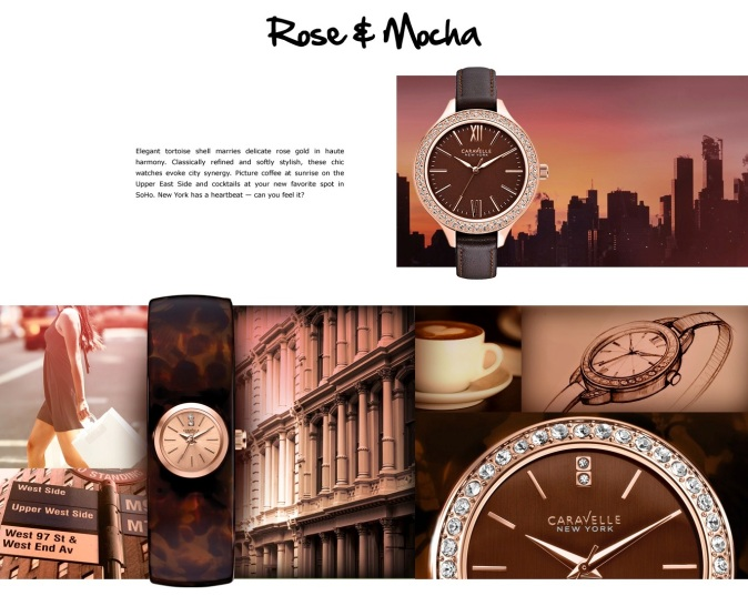 Elegant tortoise shell marries delicate rose gold in haute harmony. Classically refined and softly stylish, these chic watches evoke city synergy. Picture coffee at sunrise on the Upper East Side and cocktails at your new favorite spot in SoHo. New York has a heartbeat — can you feel it?